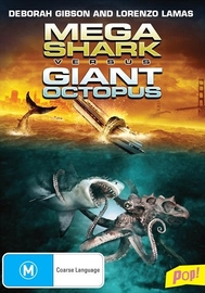 Mega Shark Vs Giant Octopus on DVD