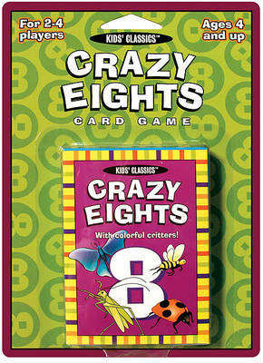 Crazy Eights: Classic Kids Playing Card Game
