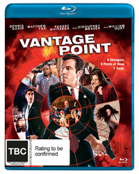 Vantage Point on Blu-ray