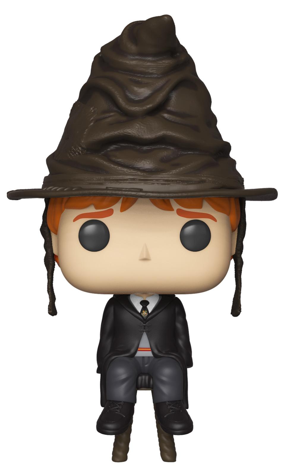 Harry Potter - Ron Weasley (Sorting Hat) Pop! Vinyl Figure image
