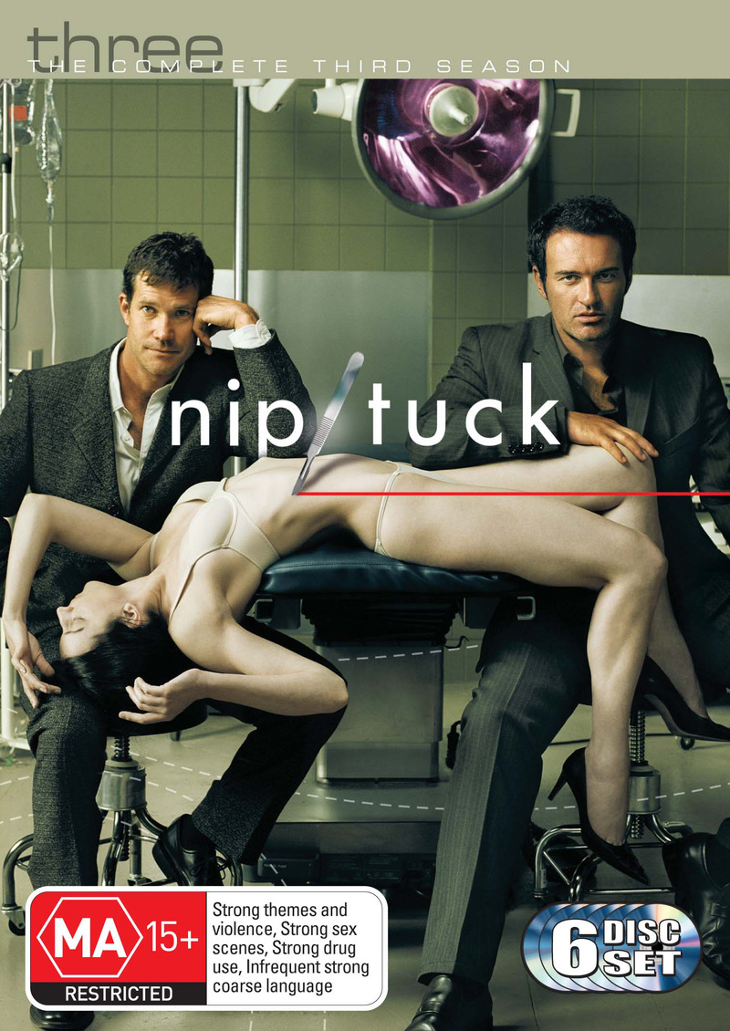 Nip/Tuck - The Complete 3rd Season (6 Disc Set) on DVD image