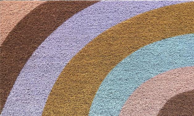 General Eclectic: Doormat - Stripe Colours