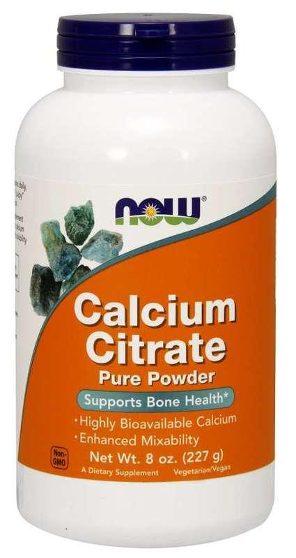 Now: Calcium Citrate Pure Powder