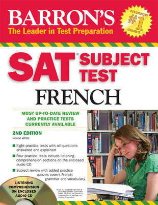 SAT Subject Test in French by Renee White image