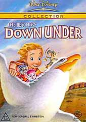 The Rescuers Down Under on DVD
