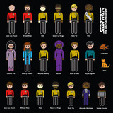 Star Trek: The Next Generation - Family Car Decals