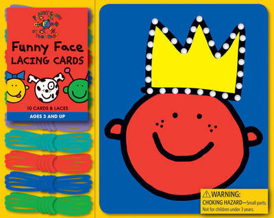 Todd Parr Funny Face Lacing Cards by Todd Parr