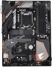 Gigabyte B360 AORUS GAMING 3 ATX Motherboard