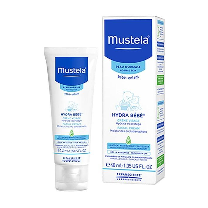 Mustela Hydra Bebe Face Cream image