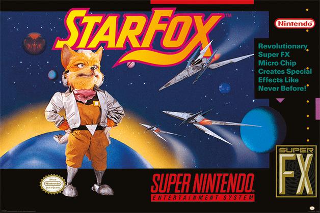 Super Nintendo Maxi Poster - Star Fox (986)