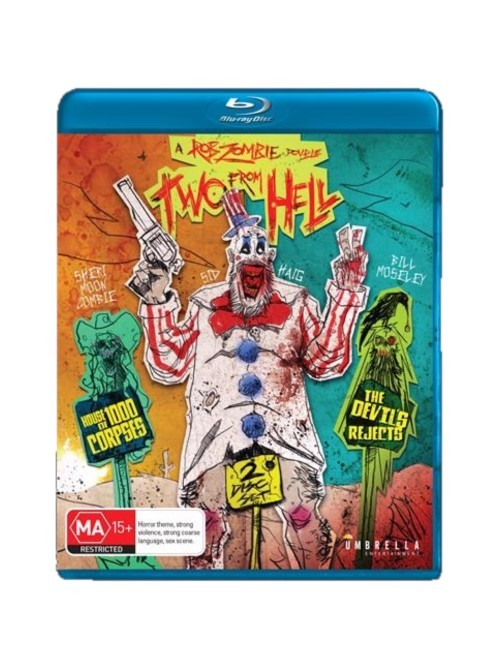 Two from Hell: House of 1000 Corpses & The Devil's Rejects (Bluray) on Blu-ray