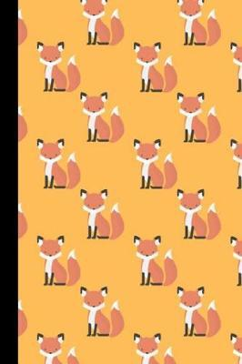 Fox Lined Notebook by Forever & Always Books