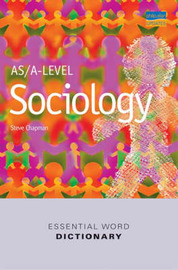 AS/A-level Sociology Essential Word Dictionary image