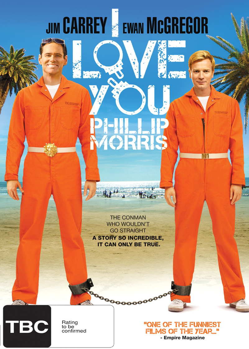 I Love You Phillip Morris DVD image