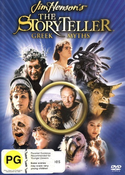 Jim Henson's The Storyteller - The Greek Myths on DVD