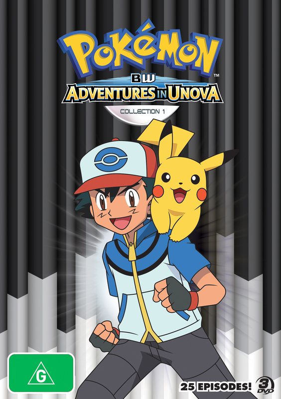 List of Pokémon: Black & White: Adventures in Unova and ...
