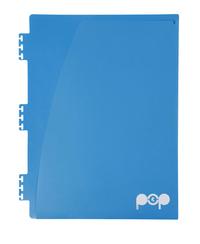 Spirax POP Blue A4 Storage Pockets - 3 Pack