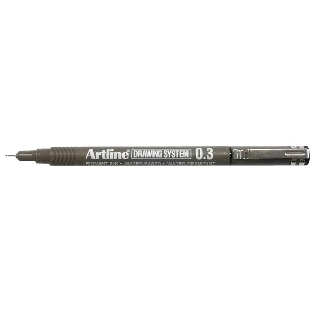 Artline 233 Drawing System Pen 0.3mm Black