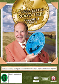Antiques Roadtrip - Volume 2 Part 2 on DVD