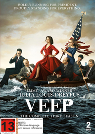 Veep: Season 3 on DVD
