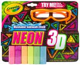 Crayola: Neon 3D Sidewalk Chalk