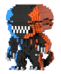 Alien - Xenomorph 8-Bit (Orange & Blue) Pop! Vinyl Figure