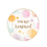 Paint Splash Trinket Dish - You Are Treasured