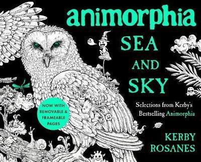 Animorphia Sea and Sky by Kerby Rosanes