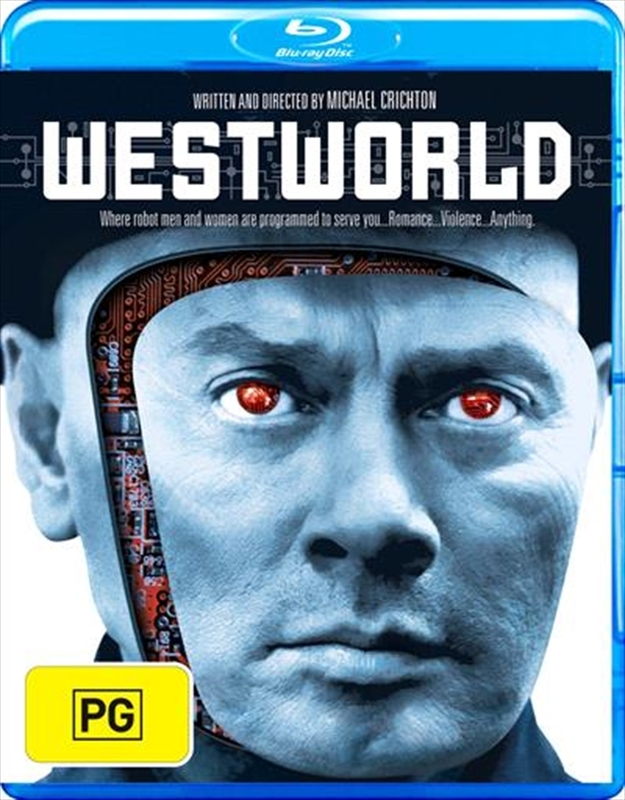 Westworld on Blu-ray