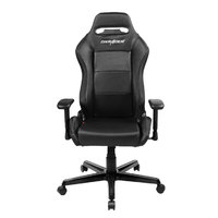 DXRacer Iron Series IS88 Gaming Chair (Black) for PC