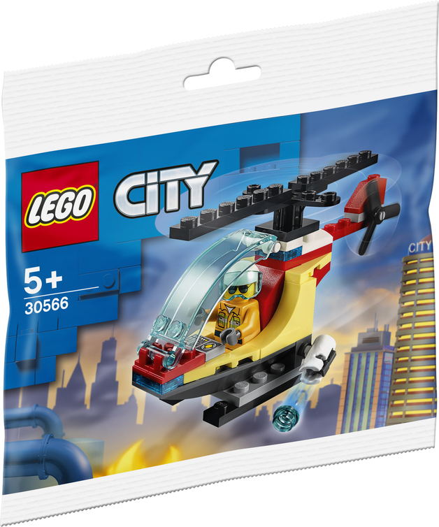 LEGO City: Fire Helicopter - (30566)