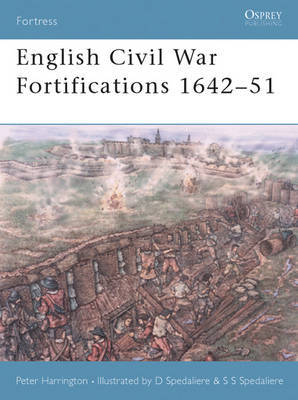 English Civil War Fortifications 1642-51 by Peter Harrington image