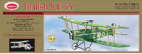 British SE5A 1:12 Balsa Model Kit