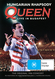 Queen: Hungarian Rhapsody DVD