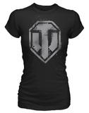 World of Tanks Spray Logo Women's T-Shirt (Small)