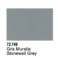 Vallejo Game Air Stonewall Grey Acrylic Paint (17ml)
