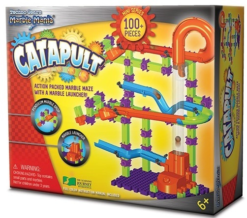 Techno Kids Marble Mania Catapult Play Set Toy At