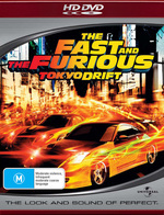 Fast And The Furious, The - Tokyo Drift on HD DVD