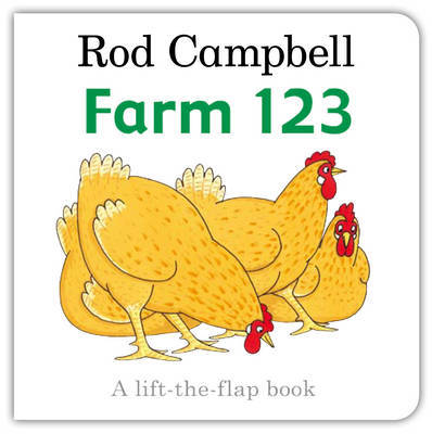 Farm 123: Lift the Flap by Rod Campbell image