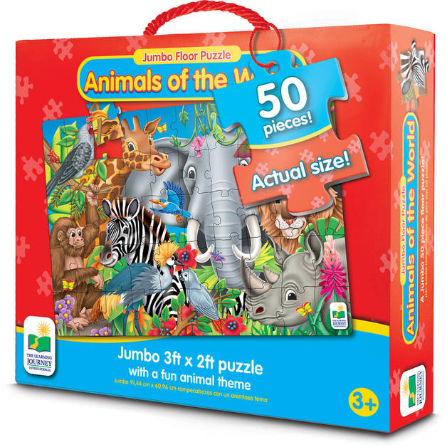 Animals of the World - Jumbo Floor Puzzle