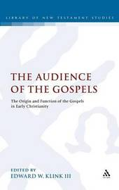 The Audience of the Gospels image