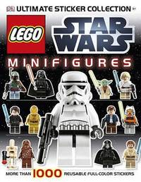 LEGO Star Wars Minifigures Ultimate Sticker Collection by Shari Last