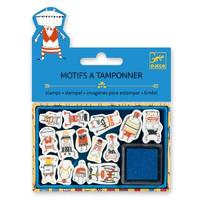 Djeco: Small Stamp Set - Little Monsters