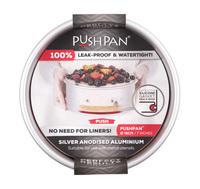 PushPan Round Aluminium Cake Pan (18cm)