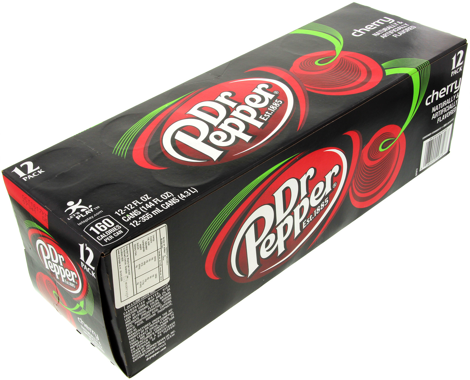 Dr Pepper Cherry 355ml (12 Pack) image