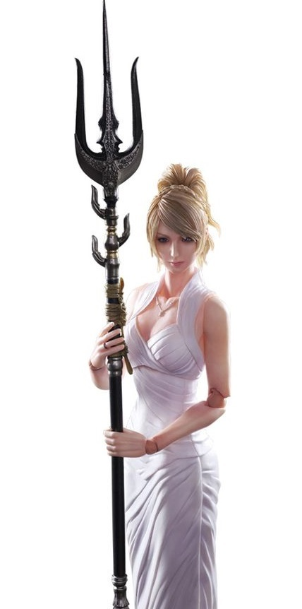 Final Fantasy XV: Lunafreya Nox Fleuret - Play Arts Kai Figure image
