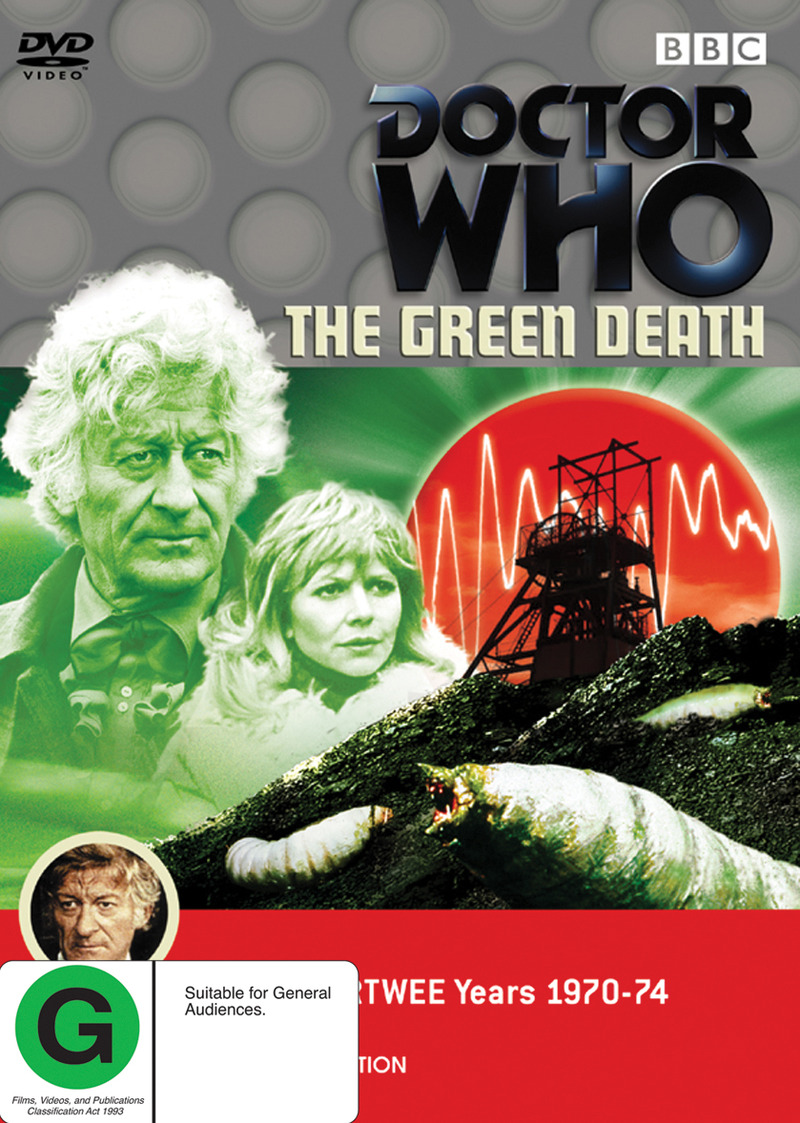 Doctor Who (1973) - The Green Death on DVD image