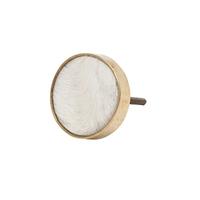 General Eclectic: Hide Knob - Cream image