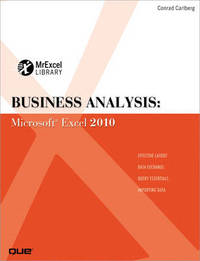 Business Analysis by Conrad George Carlberg
