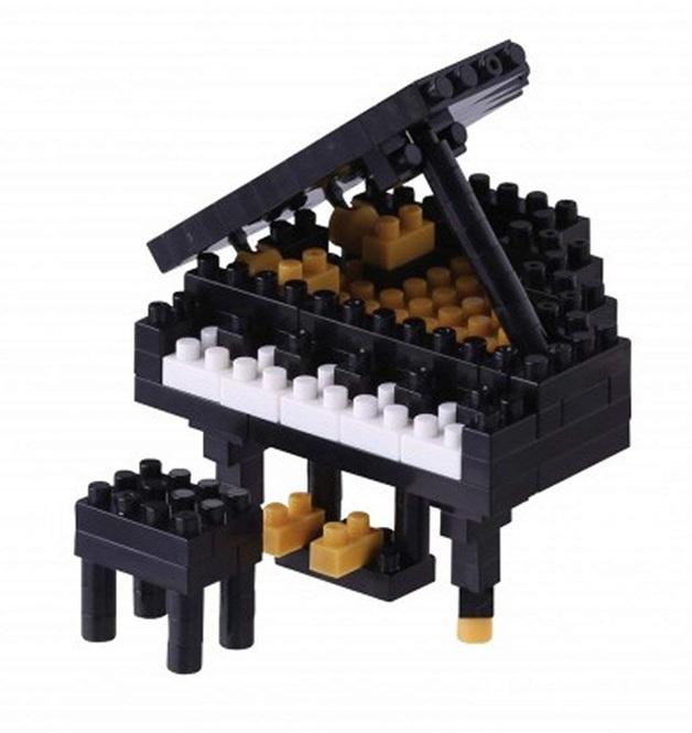 nanoblock: Musical Instrument Series - Grand Piano #2
